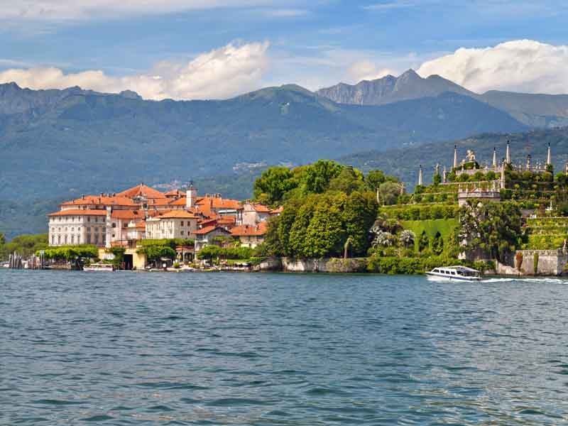 The Beauty of Lake Como & Lake Maggiore by Air