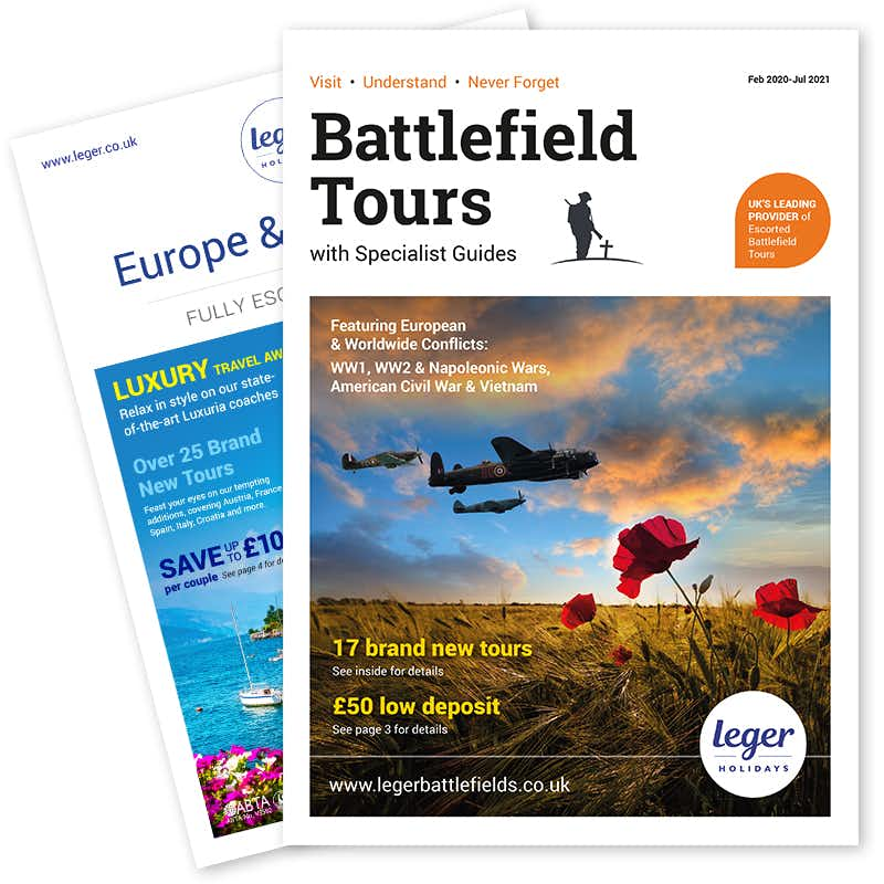 Order your FREE Battlefields brochure