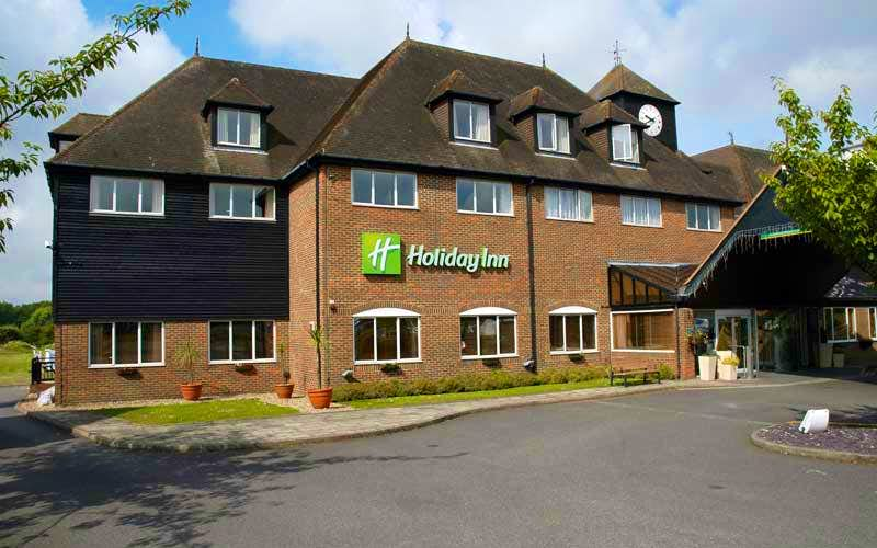 Stay overnight at Holiday Inn Ashford